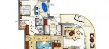 ALPINE LODGE 3, 90m² Plan