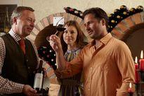 Gut sortierter Weinkeller mit ca. 8000 Weinflaschen