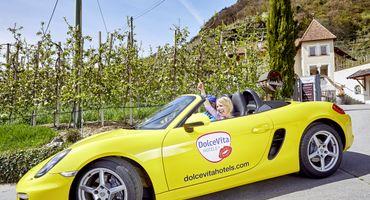 Vom Winde verweht - Porsche Boxter Cabrio