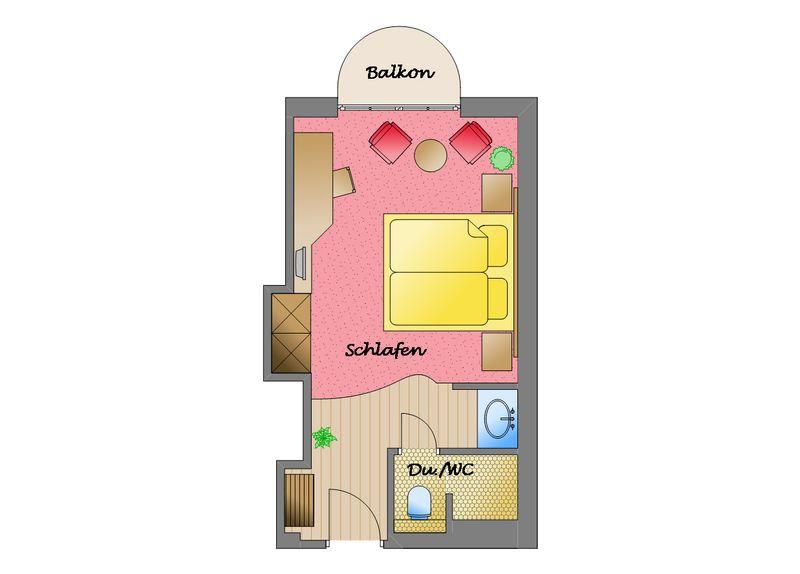 Zum Kurfürsten - Home Plus Doppelzimmer