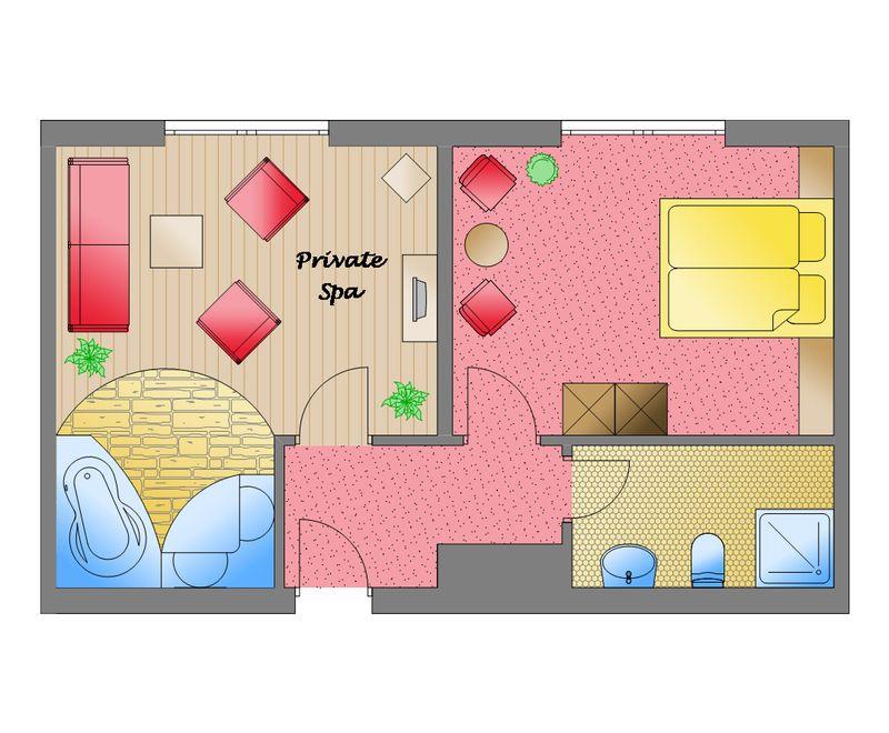 Zum Kurfürsten - Main-Spa-Suite