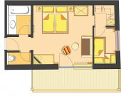 Familienappartement klein I