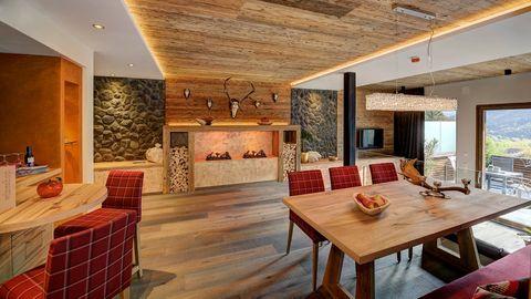 wandideen ~ kreative deko-ideen und innenarchitektur - Luxus Chalet 6 Schlafzimmer