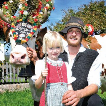 Kirchtag festival & cattle drive