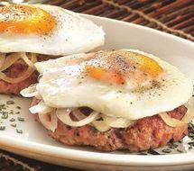 "Fassona-Burger nach Bismarck-Art : ""ECHTE NAHRUNG"""