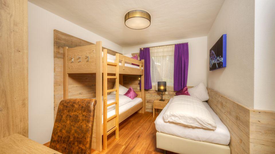 Kinderzimmer Zu Zweit | Familiensuite Typ G De Luxe Sonnenalm Sudtirol St Martin