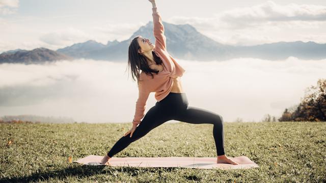 Fasten und Yoga