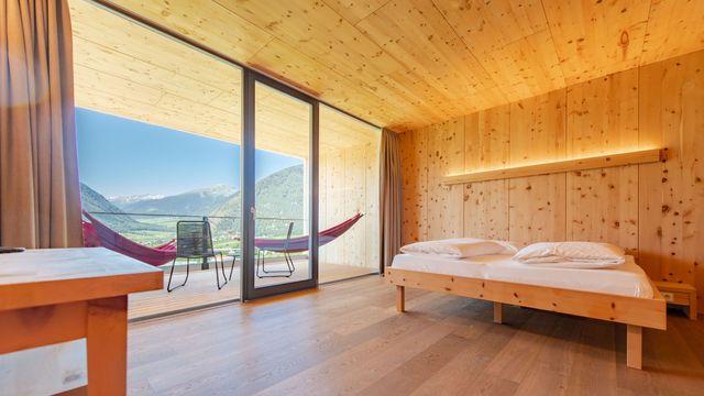 Double room balance stone pine
