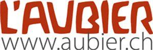L Aubier, Café-Hôtel - Logo