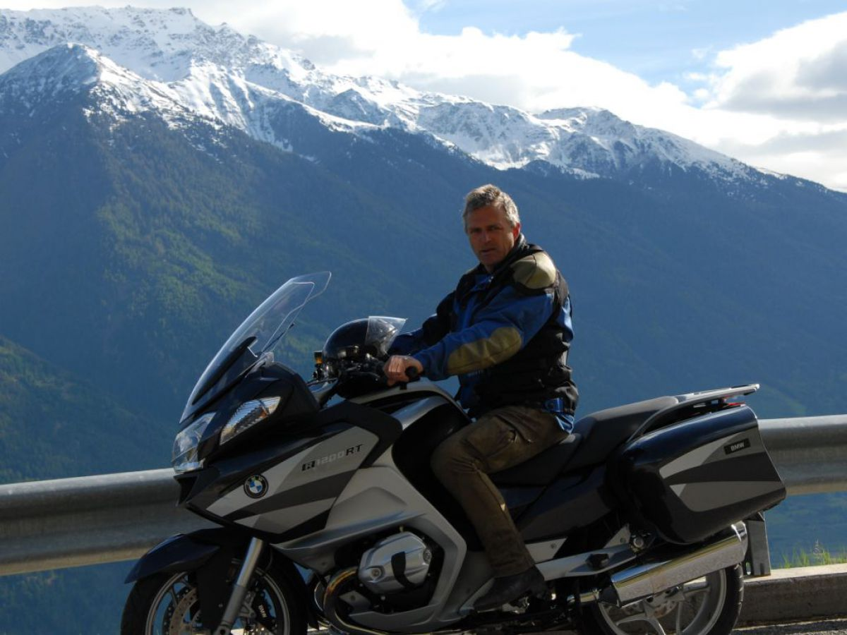 Kurvenrausch mit BMW-Motorrädern von unserem Testcenter