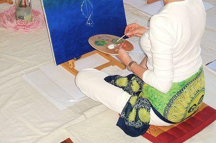 Fasten und freies Malen