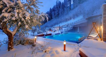 Penthouse Chalet with privat whirlpool, sauna as well as access tot he top roof