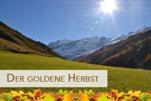 A golden autumn | 3 nights