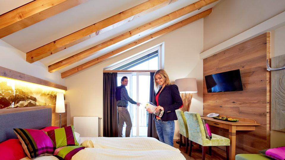 """Deluxe twin-room """"Mountain View"""""""