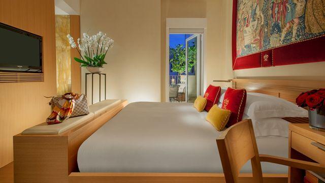 Richard Meier De Luxe Zimmer mit Terasse