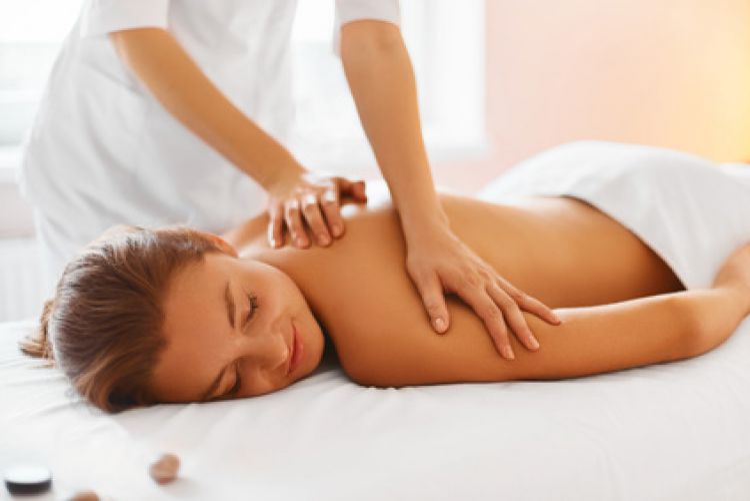 Sport massage legs or back