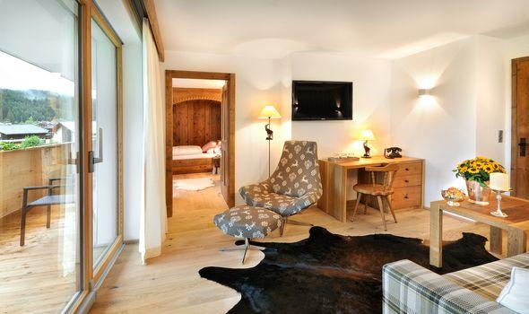 Suite Alpenveilchen I im Quellenhaus