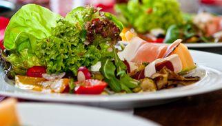 Bio-Restaurant: Villa Hof Langenborn