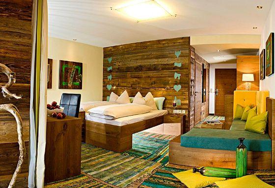 Doppelzimmer Deluxe im Holzleo (Stoaberg)