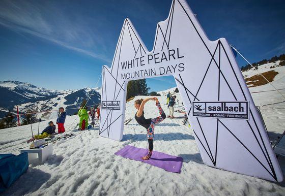 White Pearl Mountain Days feat. #homeofsports   3 Nächte April
