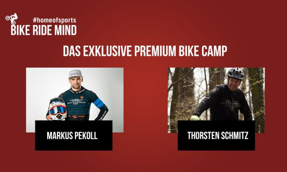 BIKE-RIDE-MIND - Premium Bike Camp by Markus Pekoll