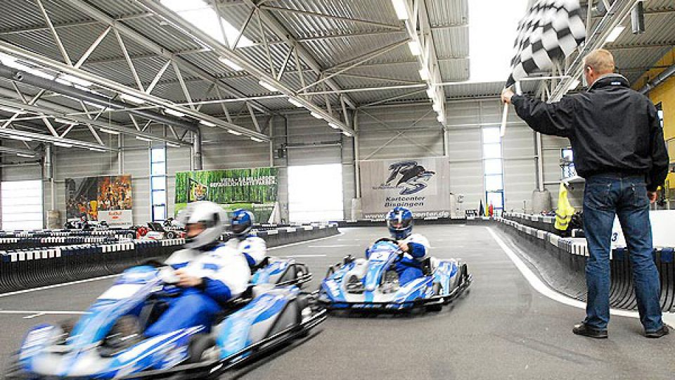 Ralf Schumachers Kartbahn in Bispingen