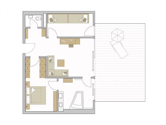 Superior Suite Grundriss #1