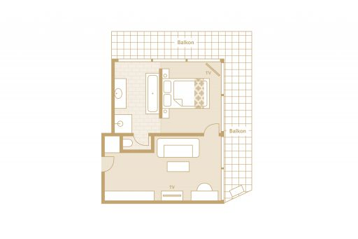 Vier Jahreszeiten Suite Skizze