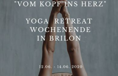"YOGA RETREAT "" VOM KOPF IN'S HERZ"
